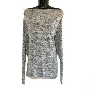 Grayson Threads, off the shoulder dolman sweater